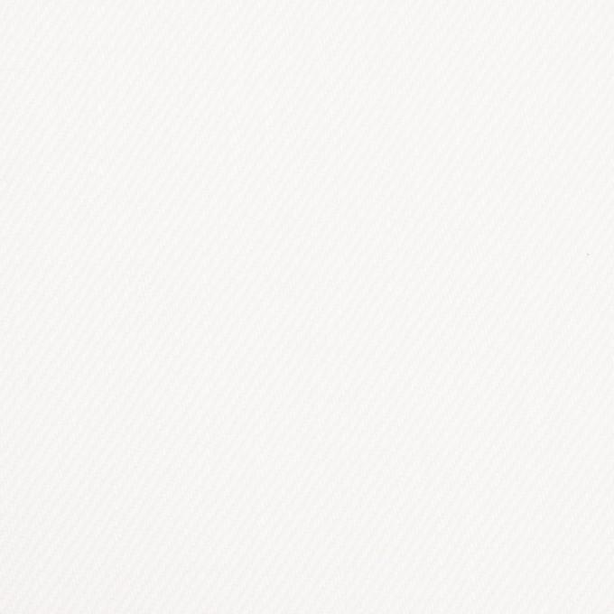 コットン×無地(オフホワイト)×カツラギ イメージ1