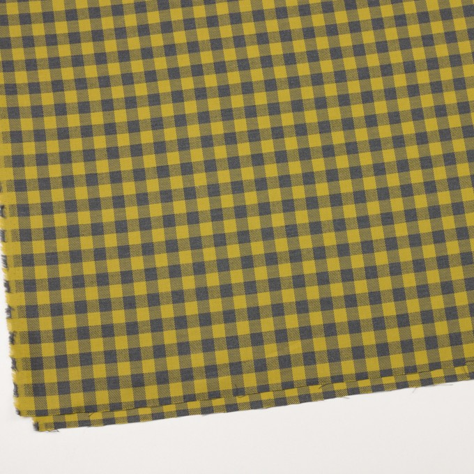 コットン×チェック(アンティークゴールド&グレー)×ビエラ イメージ2