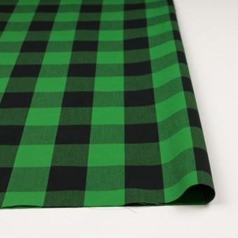 コットン×チェック(グリーン&ブラック)×高密ブロード サムネイル3