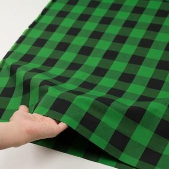 コットン×チェック(グリーン&ブラック)×高密ブロード サムネイル5