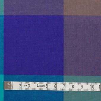 コットン×チェック(エメラルドグリーン&グレープ)×ブロード サムネイル4