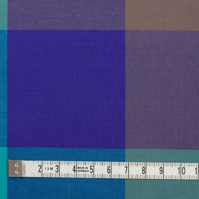 コットン×チェック(エメラルドグリーン&グレープ)×ブロード イメージ4