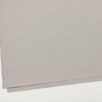 コットン×無地(ライトグレー)×オックスフォード_イタリア製 サムネイル2