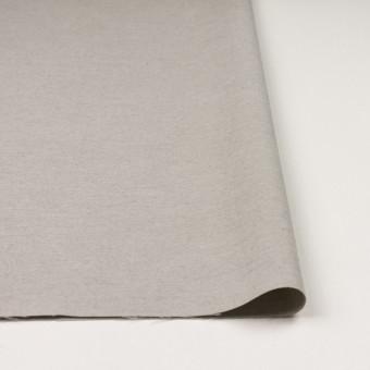 コットン×無地(ライトグレー)×オックスフォード_イタリア製 サムネイル3