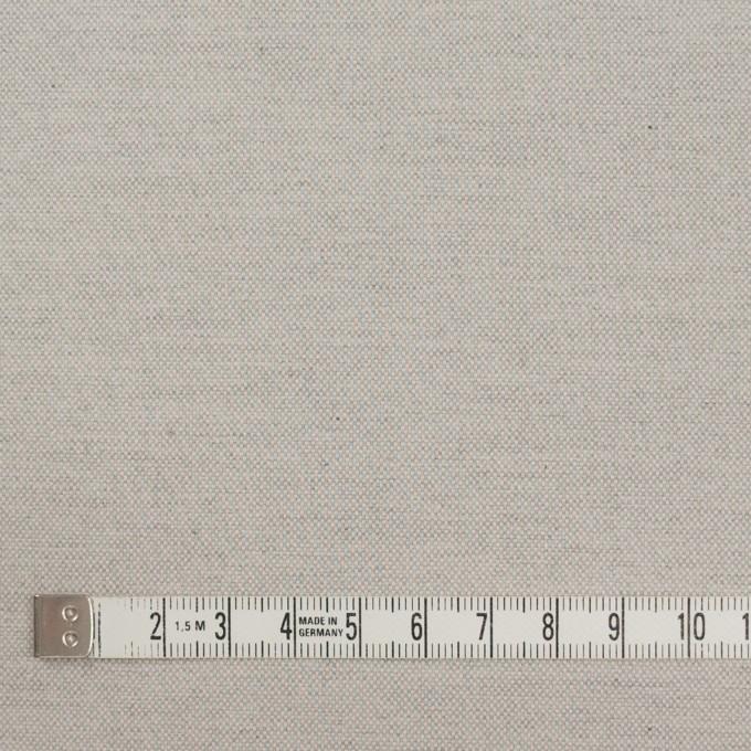 コットン×無地(ライトグレー)×オックスフォード_イタリア製 イメージ4