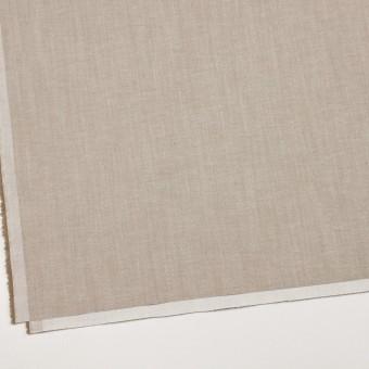 コットン&ポリエステル混×無地(カーキベージュ)×サージストレッチ_イタリア製 サムネイル2