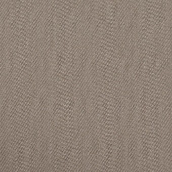 コットン&ポリウレタン×無地(ベージュグレー)×サージストレッチ サムネイル1