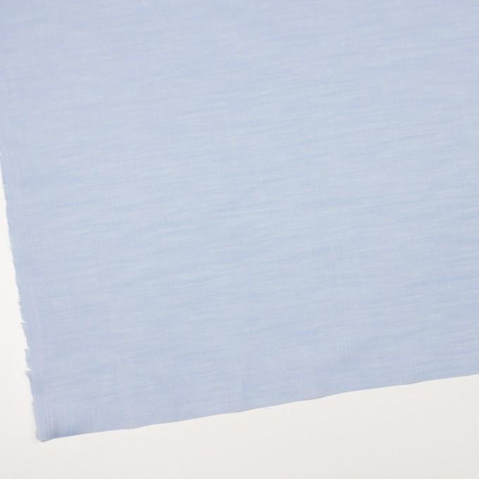 コットン×無地(ペールブルー)×ヘリンボーン_全5色 イメージ2