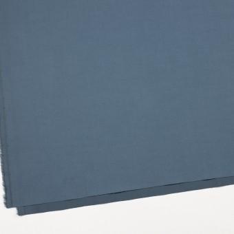 コットン&ポリウレタン×無地(ブルーグレー)×ギャバジンストレッチワッシャー_イタリア製 サムネイル2