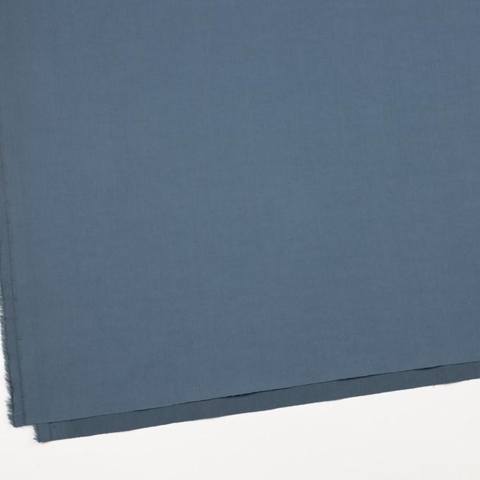 コットン&ポリウレタン×無地(ブルーグレー)×ギャバジンストレッチワッシャー_イタリア製 イメージ2