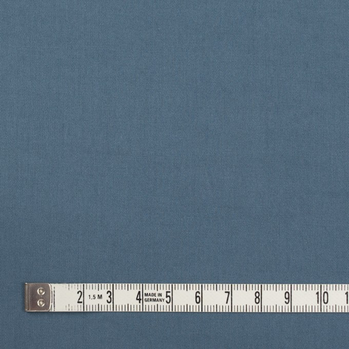 コットン&ポリウレタン×無地(ブルーグレー)×ギャバジンストレッチワッシャー_イタリア製 イメージ4