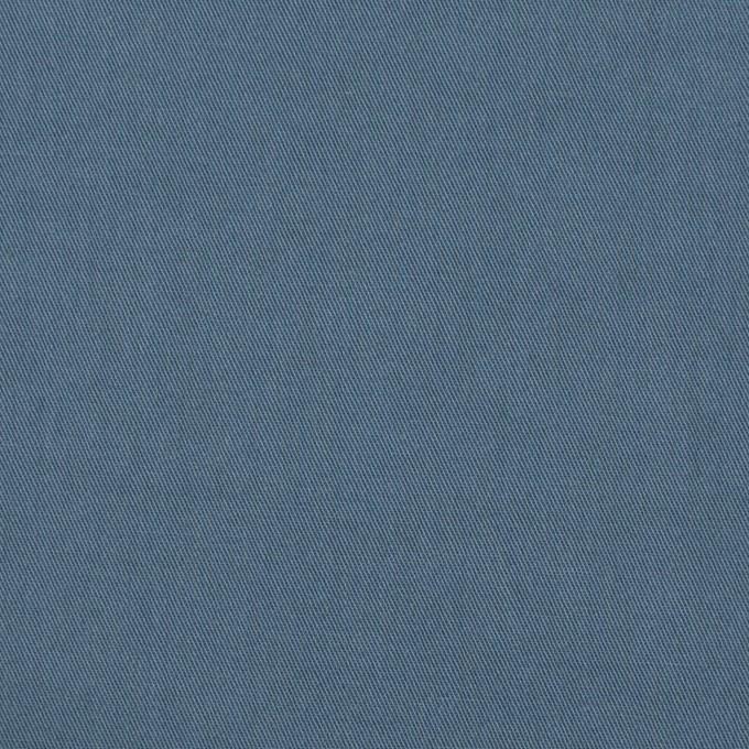 コットン&ポリウレタン×無地(ブルーグレー)×ギャバジンストレッチワッシャー_イタリア製 イメージ1