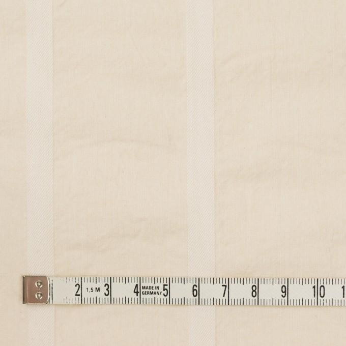 コットン×ストライプ(キナリ)×シーチング&サージ イメージ4