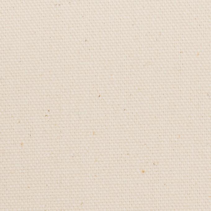 コットン×無地(キナリ)×8号帆布 イメージ1