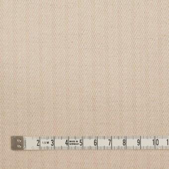 コットン&リネン×無地(キナリ)×ヘリンボーン サムネイル4