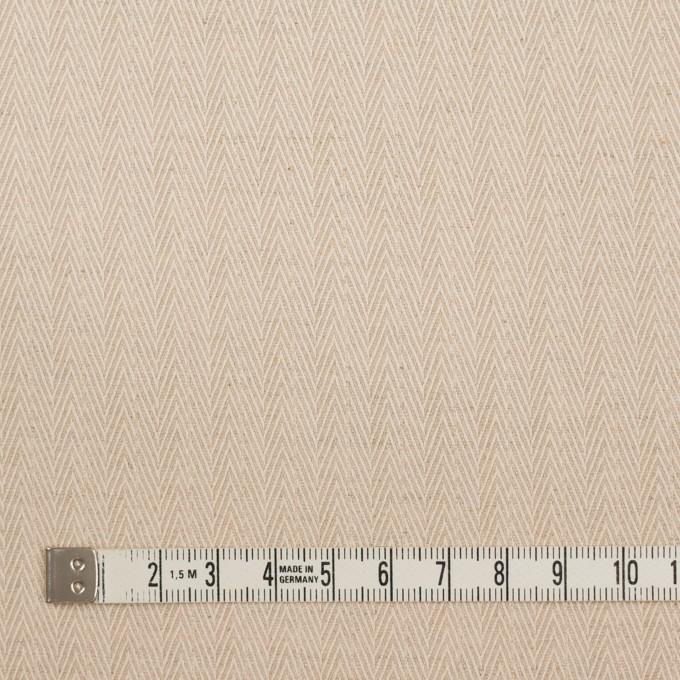 コットン&リネン×無地(キナリ)×ヘリンボーン イメージ4