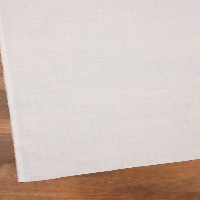コットン&テンセル×無地(オフホワイト)×ボイル_全4色 イメージ2