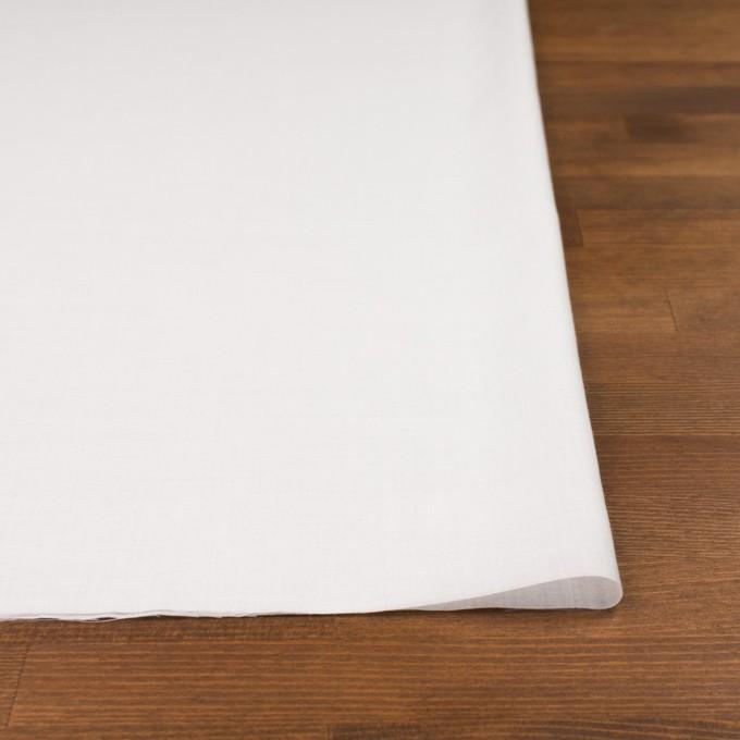 コットン&テンセル×無地(オフホワイト)×ボイル_全4色 イメージ3