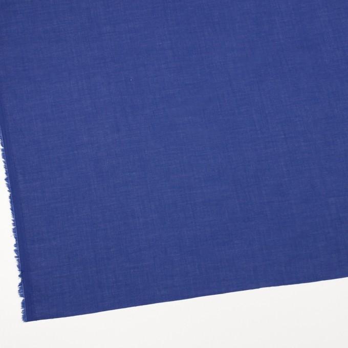 コットン&テンセル×無地(ロイヤルブルー)×ボイル_全4色 イメージ2