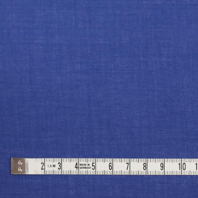 コットン&テンセル×無地(ロイヤルブルー)×ボイル_全4色 イメージ4