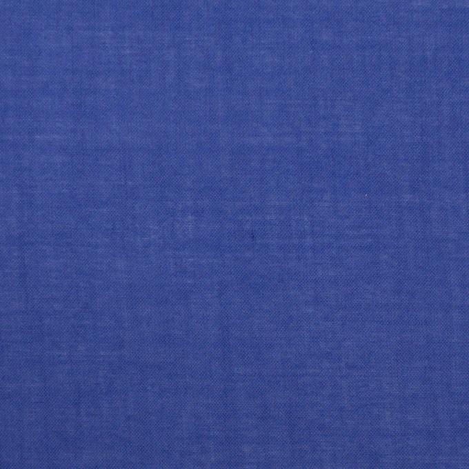 コットン&テンセル×無地(ロイヤルブルー)×ボイル_全4色 イメージ1