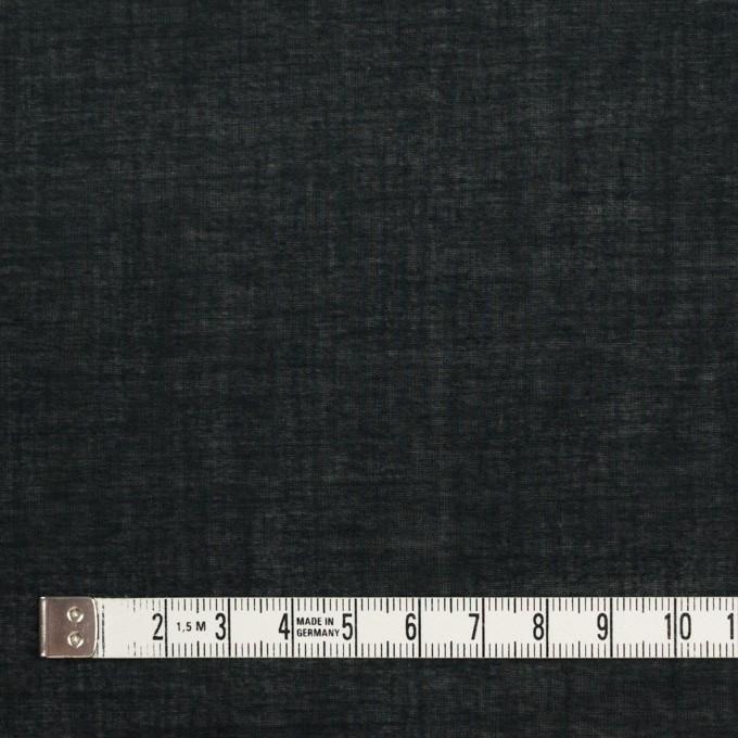 コットン&テンセル×無地(ブラック)×ボイル_全4色 イメージ4