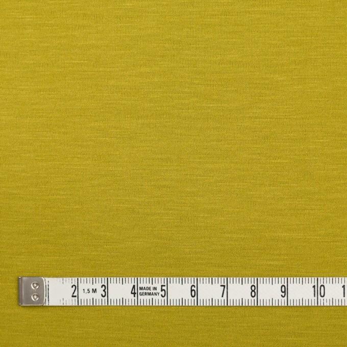 テンセル&コットン×無地(アンティークゴールド)×天竺ニット_全2色 イメージ4