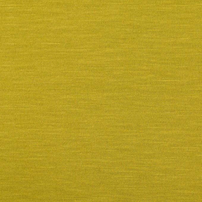 テンセル&コットン×無地(アンティークゴールド)×天竺ニット_全2色 イメージ1