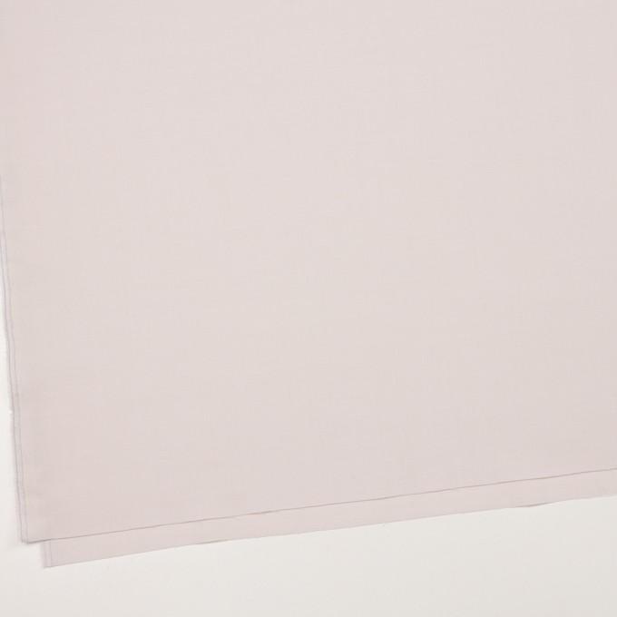 ウール&ポリエステル混×無地(パウダーピンク)×ポプリンストレッチ_イタリア製 イメージ2