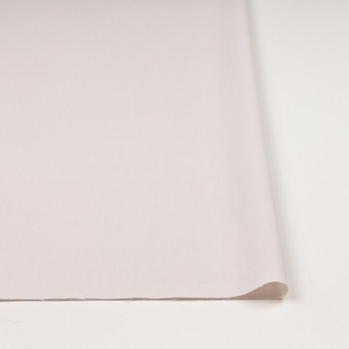 ウール&ポリエステル混×無地(パウダーピンク)×ポプリンストレッチ_イタリア製 イメージ3