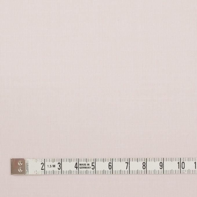 ウール&ポリエステル混×無地(パウダーピンク)×ポプリンストレッチ_イタリア製 イメージ4
