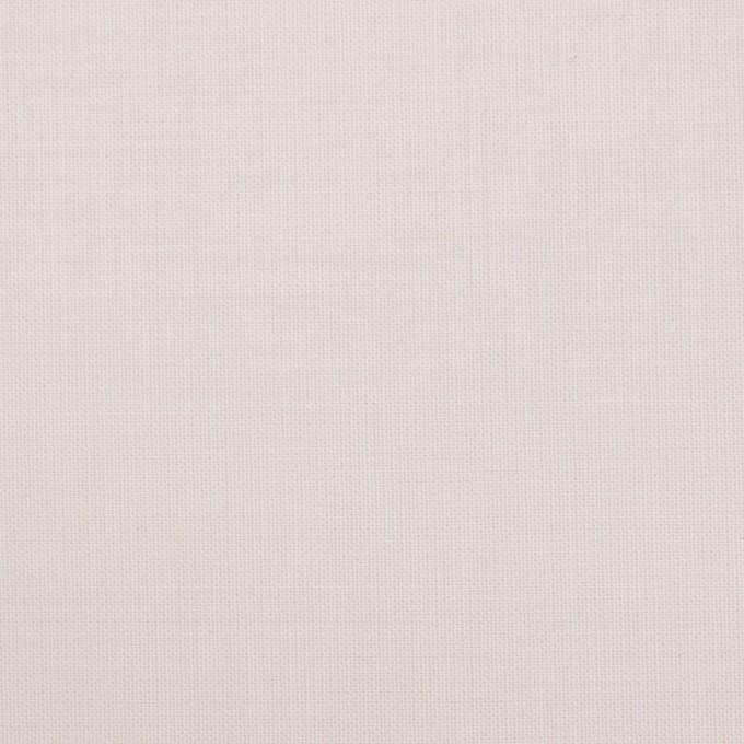 ウール&ポリエステル混×無地(パウダーピンク)×ポプリンストレッチ_イタリア製 イメージ1