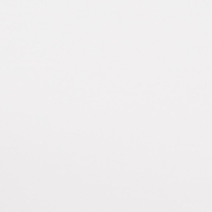 コットン&ポリウレタン混×無地(ホワイト)×サテンストレッチ イメージ1