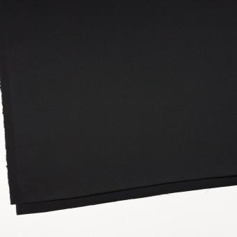 コットン&ポリウレタン×無地(ブラック)×かわり織ストレッチ サムネイル2
