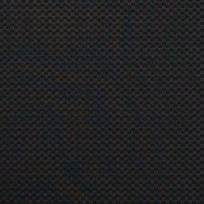 コットン&ポリウレタン×無地(ブラック)×かわり織ストレッチ イメージ1