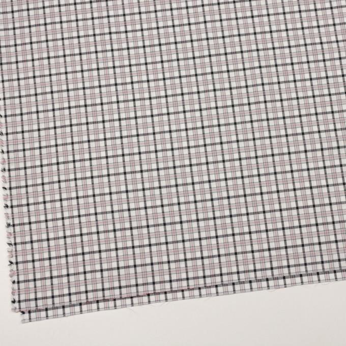 コットン×チェック(グレー&レッド)×ブロード&サージ イメージ2