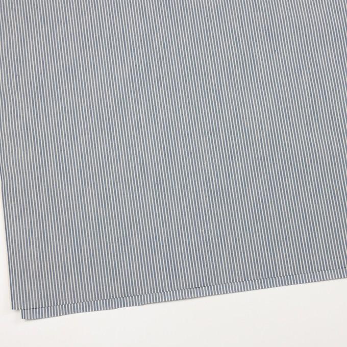 コットン×ストライプ(ブルーグレー&キナリ)×キャンバス イメージ2