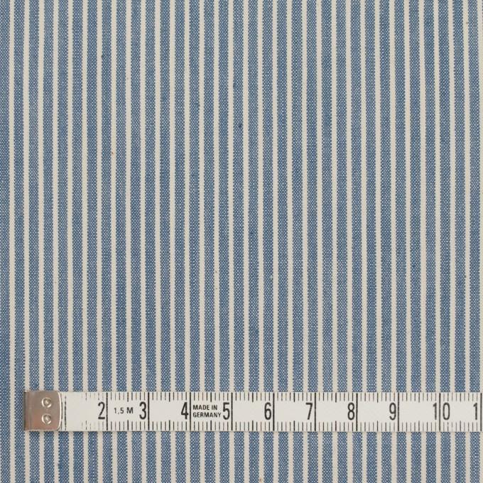 コットン×ストライプ(ブルーグレー&キナリ)×キャンバス イメージ4