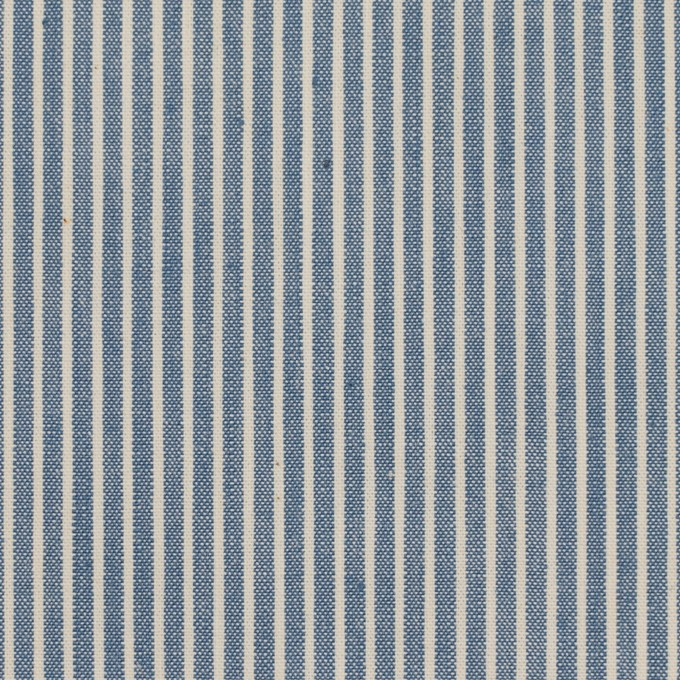 コットン×ストライプ(ブルーグレー&キナリ)×キャンバス イメージ1