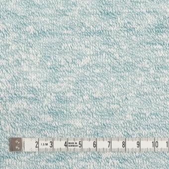 リネン&レーヨン混×ミックス(エメラルド)×天竺ニット サムネイル4