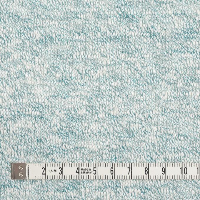 リネン&レーヨン混×ミックス(エメラルド)×天竺ニット イメージ4