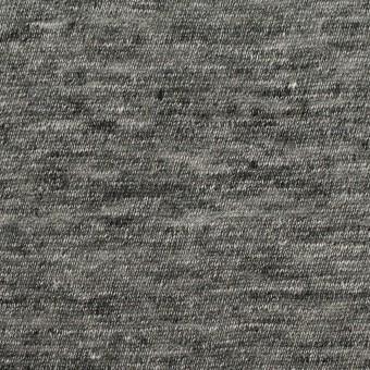 リネン×無地(チャコールグレー)×天竺ニット_全2色 サムネイル1