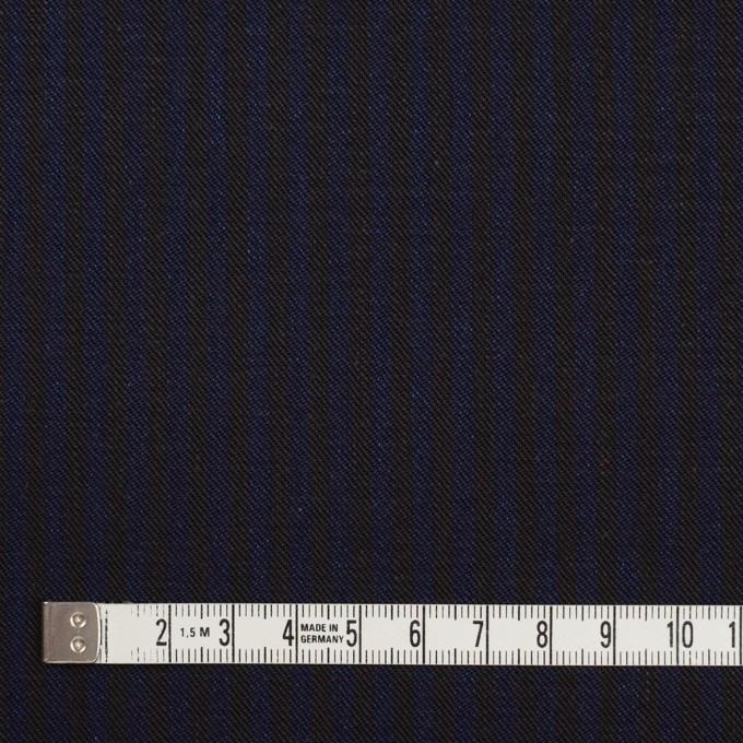 コットン×ストライプ(インディゴブルー&インディゴ)×チノクロス イメージ4