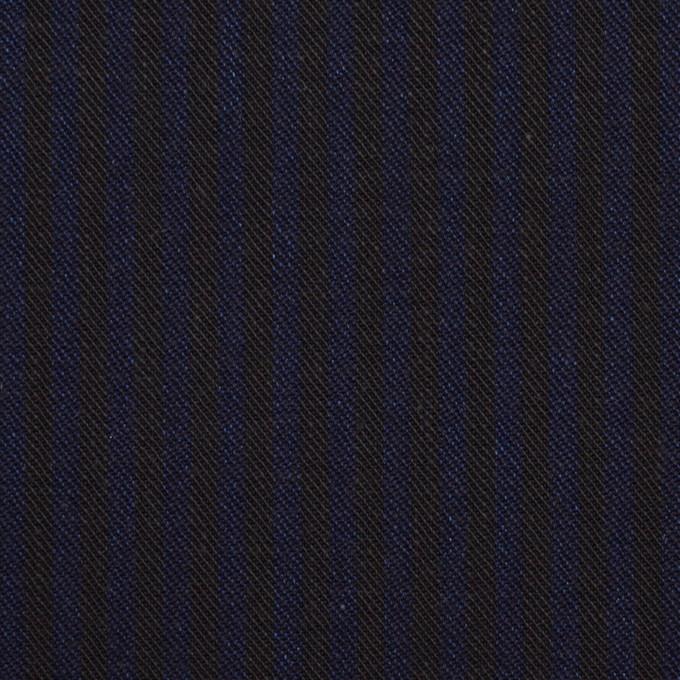 コットン×ストライプ(インディゴブルー&インディゴ)×チノクロス イメージ1