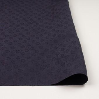 リネン&シルク×幾何学模様(グレープ)×ジャガード_全2色_イタリア製 サムネイル3