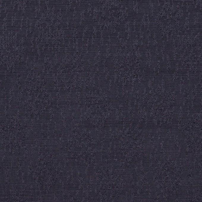 リネン&シルク×幾何学模様(グレープ)×ジャガード_全2色_イタリア製 イメージ1
