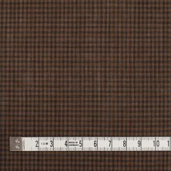 コットン×チェック(モカブラウン)×ボイル_全4色 サムネイル4