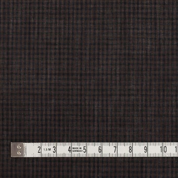 コットン×チェック(ココア)×ボイル_全4色 イメージ4
