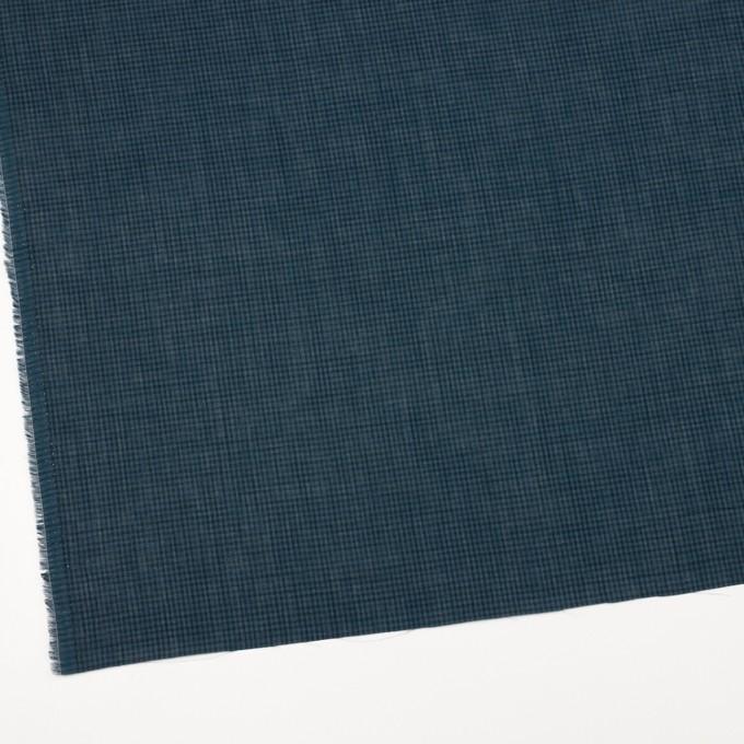 コットン×チェック(ブルーグレー)×ボイル_全4色 イメージ2