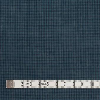 コットン×チェック(ブルーグレー)×ボイル_全4色 サムネイル4